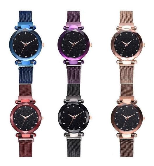 Reloj Vintage Extensible Magnetico Mayoreo Colores