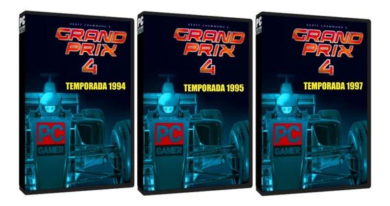 Grand Prix 4 [ Temporada 94, 95 E 97 ] Pc Dvd Frete 8 Reais