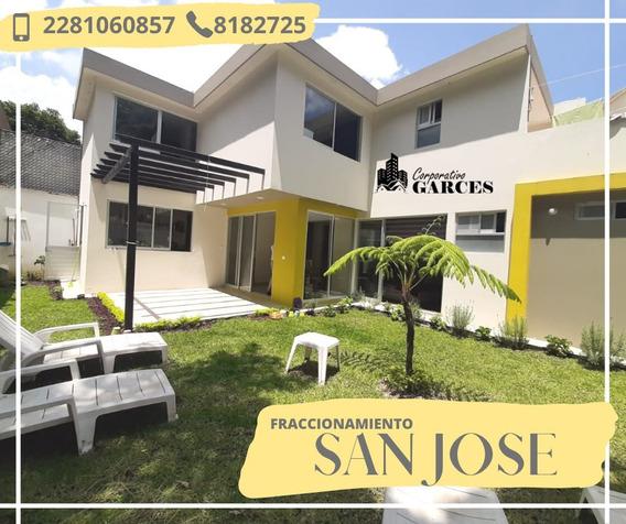 Hermosa Casa En Residencial Privado En Coatepec, Ver. J.a.g.c