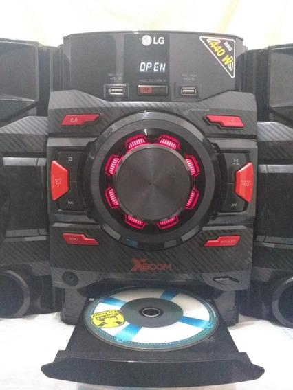 Som Lg 440w Rms Xboom Bluetooth Cm4460 Mimi System