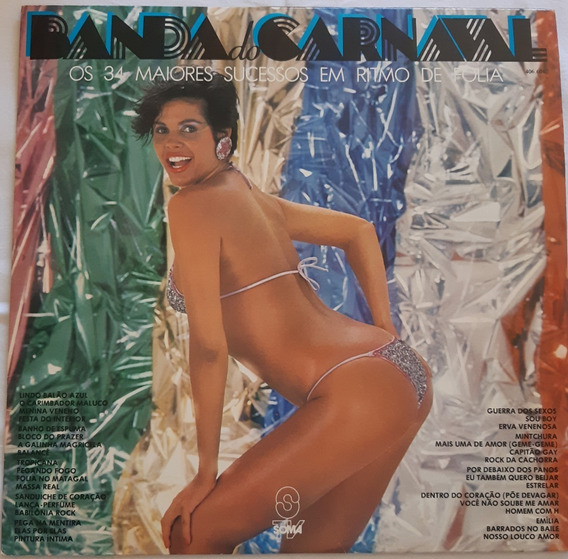 Lp - Banda Do Carnaval - 1983 - Vinil