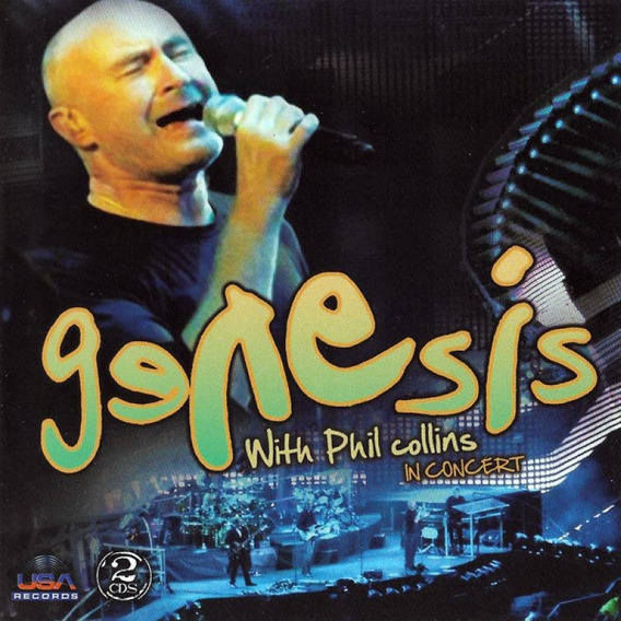 Genesis With Phil Collins In Concert - 2 Cds Rock