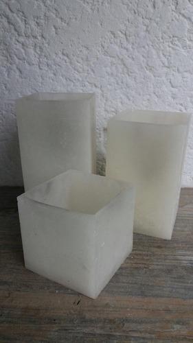 Imagen 1 de 2 de Fanales De Parafina Para Vela