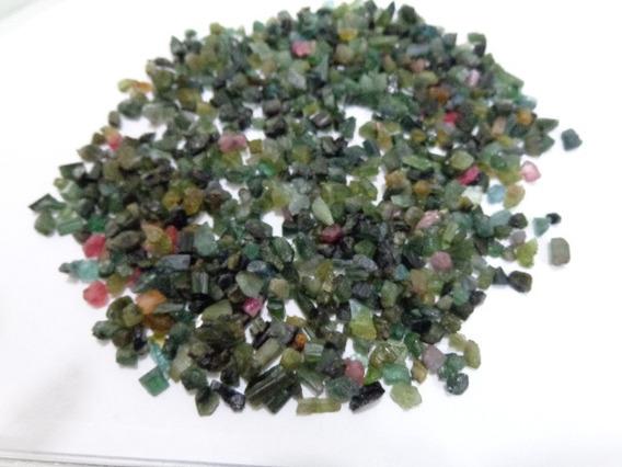 100g Cascalho De Turmalina Colorida - Prosperity Minerais