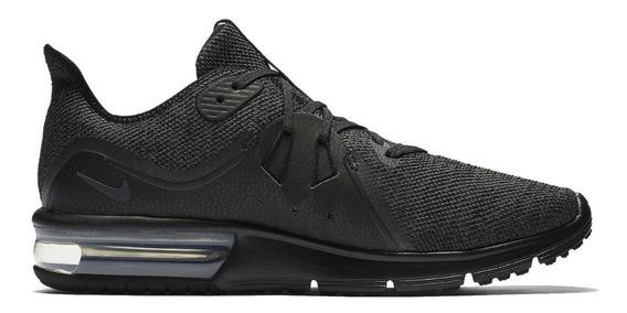 Tenis Nike Air Max Sequent 3 Negro Caballlero 921694-010