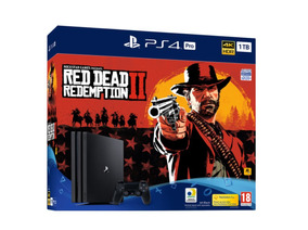 Console Sony Ps4 Pro Bundle Red Dead Redemption 2 7215b