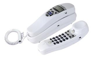 Teléfono Alambrico Misik Mt880w Blanco/con Identificador