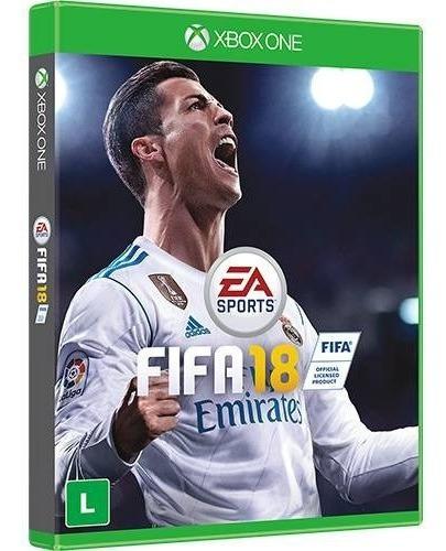 Fifa 18 Para Xbox One Dvd Original Lacrado Futebol Portugues