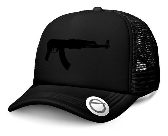 Gorras Trucker Arma Ak47 Rap Hip Hop