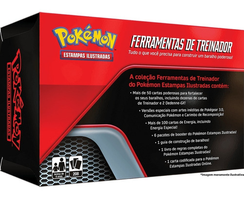 Card Game Toolkit Pokémon Tcg Ferramentas De Treinador Copag