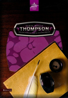Biblia Thompson-reina Valera-edicion Estudio-orquidea