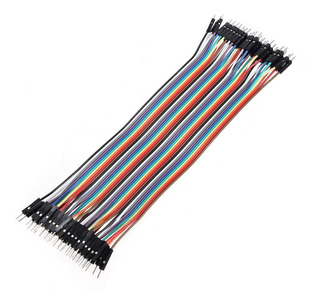Cable Jumper 40 Pines 20cm Para Protoboard Arduino Dupont