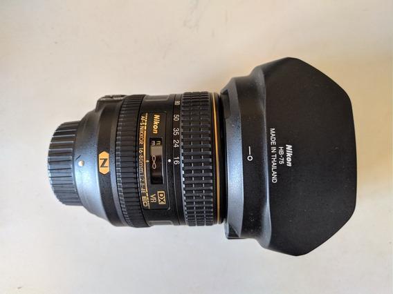 Nikon Af-s Vr 16-80 Mm F/2.8-4.0 N E Ed Dx Profissional