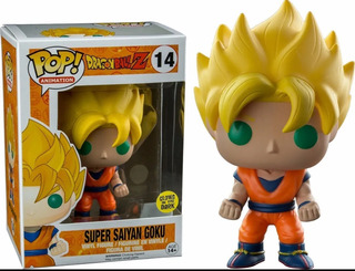 Funko Pop Super Saiyan Goku Glows Un The Dark