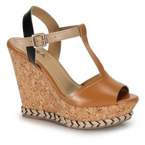 6667f8cca8 Sandália Anabela Lara - Sapatos no Mercado Livre Brasil