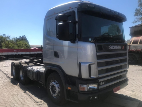 Scania R 124 360 - 2005 - 6x4 - Financiamento 1° Caminhão
