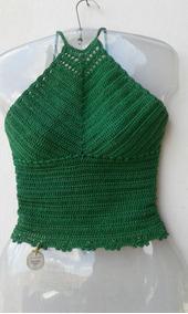 Blusa/top/cropped Em Croche