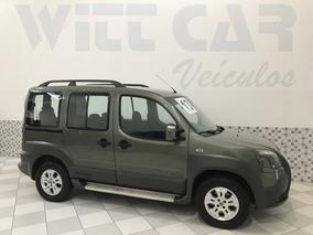 Fiat Doblo Adventure Xingu 1.8 Flex 2013 Verde 6 Lugares