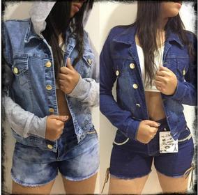 Moletom Jaqueta C Jeans 1/25 Modelos Escolha Frio Li@