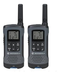 Walkie Talkie Motorola T200mc 32km Distancia 22 Canais