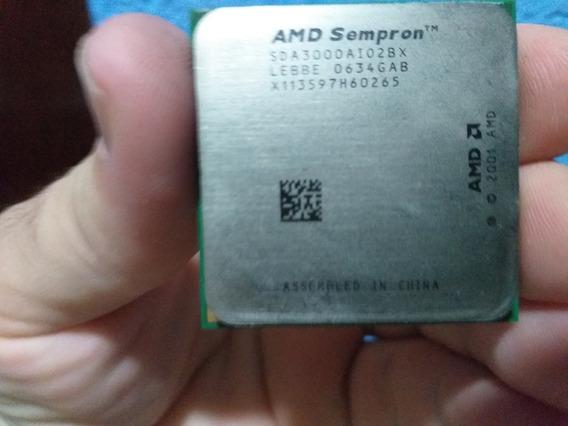 Processador Sempron 3000+ Soket 754 +cooler