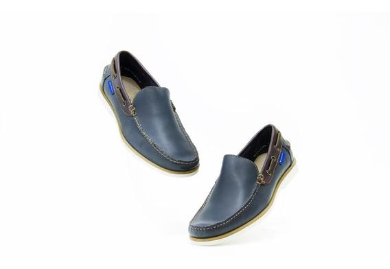 Zapatos Comodos Caballero Quirelli 84902 Navy Originales!!