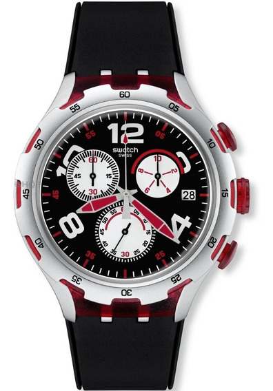Relógio Swatch Red Wheel Yys4004 - Super Promoção!
