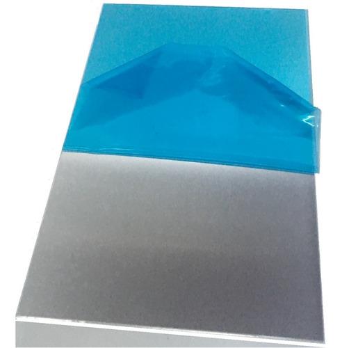 Imagem 1 de 5 de Chapa Aluminio Lisa 497x497mm Na Esp. De 3,0mm