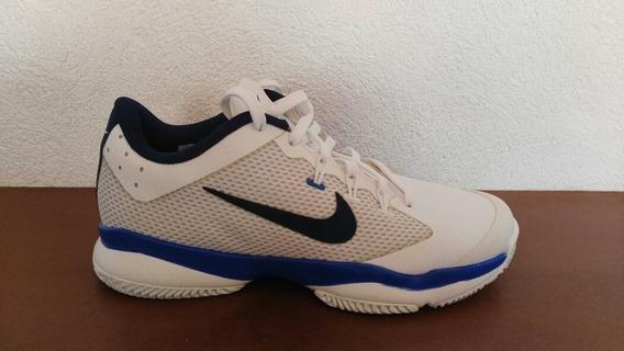 Tenis Nike Niño, Blancos / Azul, Talla 23.5.