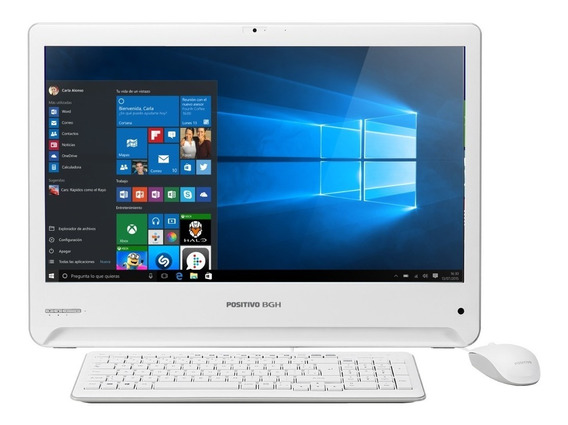 All In One Positivo Bgh One 1825i Intel Celeron N2840 Windows 10 Home 4gb 500gb