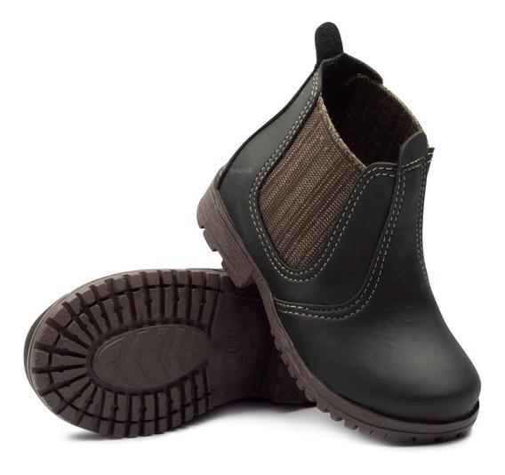 Bota Botina Jequinha Infantil Jeca Country Sapato Texana 47