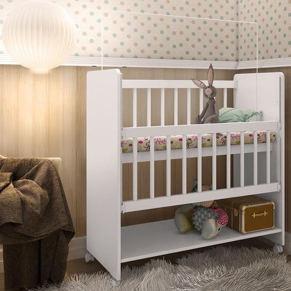 Mini Berço Infantil Bedside Sleeprs Soninho Com Colchão