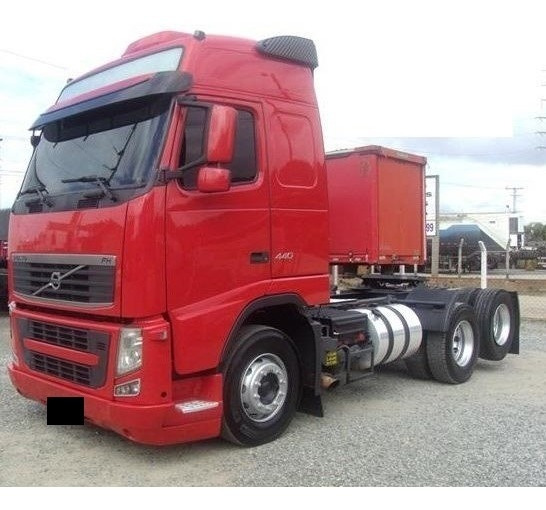 Volvo Fh 440 6x2 2011/11 Globetrotter Completo