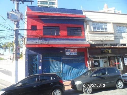 Salão Comercial Para Alugar No Centro Da Penha - Pt00005 - 69502645