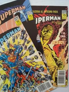 Superman Ediciones Zinco Pack X 3 Ejemplares