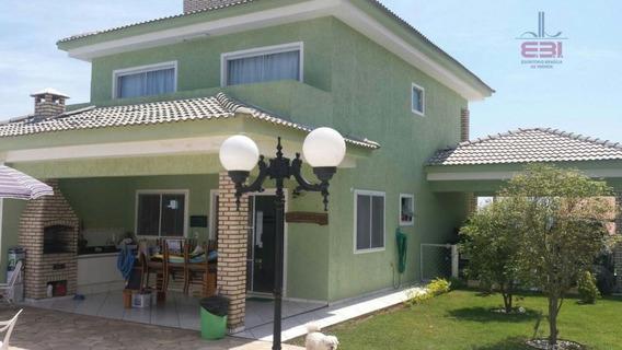 Sobrado Residencial À Venda, Condominio Ninho Verde, Porangaba. - So1067