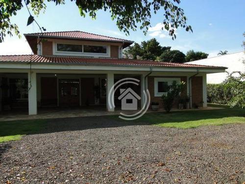 Chácara Com 4 Dormitórios À Venda, 2400 M² Por R$ 1.500.000,00 - Pinhal - Limeira/sp - Ch0033
