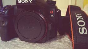 Câmera Dslr Sony A65 Novissima