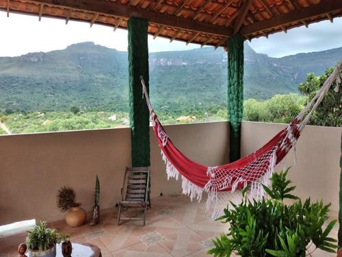 Vendo Casa No Capão, Chapada Diamantina, Distrito De Palmeiras, Com 170m², 2 Quartos. - V1001 - 69336440