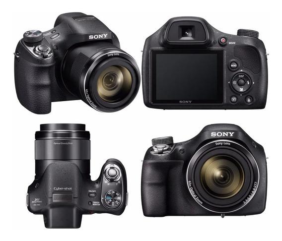 Camera Sony Dsc H400 20.1 Zoom 63x - Usada Somente 2 Vezes