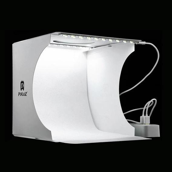 Mini Studio 40leds+6 Fundos 23x24x22 Cm Frete Gratis