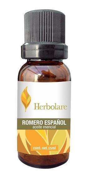 Aceite Esencial Romero 15ml Masaje Aromaterapia Herbolare
