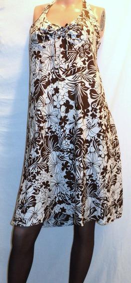 Vestido Solero Vintage Talle 2 Estampado