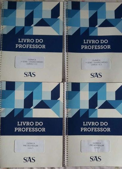 Apostilas Sas Química 4 Volumes