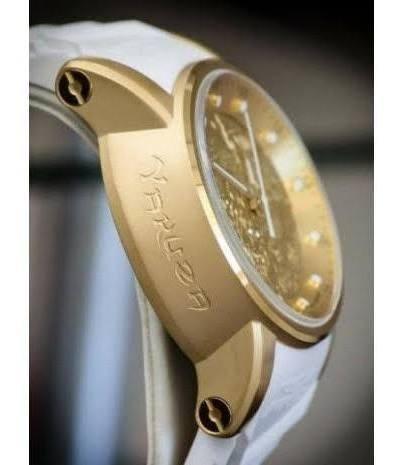 Relógio Invicta S1 Hally Yakuza 19546 Banhado A Ouro 18k