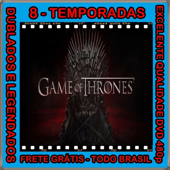 Serie Game Of Thrones [1ª A 8ª Temporadas] + Frete Grátis