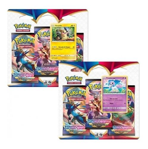 Pokémon  2 Triple Pack Espada E Escudo Ponyta E Morpeko
