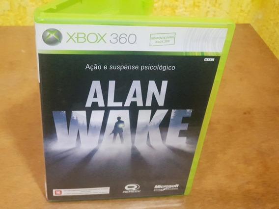 Alan Wake Usado Original Manuais Xbox 360 Midia Fisica