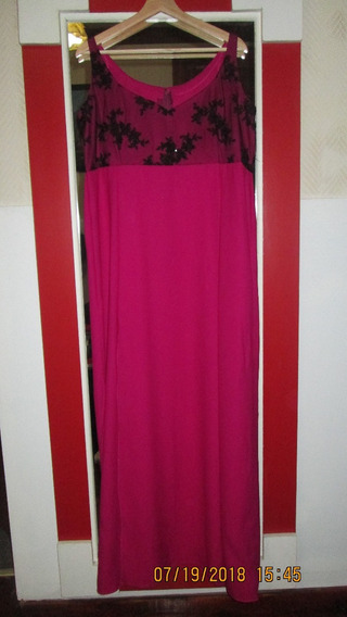 Vestido De Fiesta Color Obispo