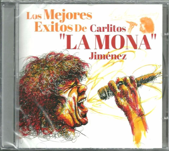 Cd Los Mejores Éxitos De Carlos La Mona Jimenez